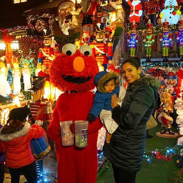 Sharing our trip to Dyker Heights Brooklyn last weekend linkhellip