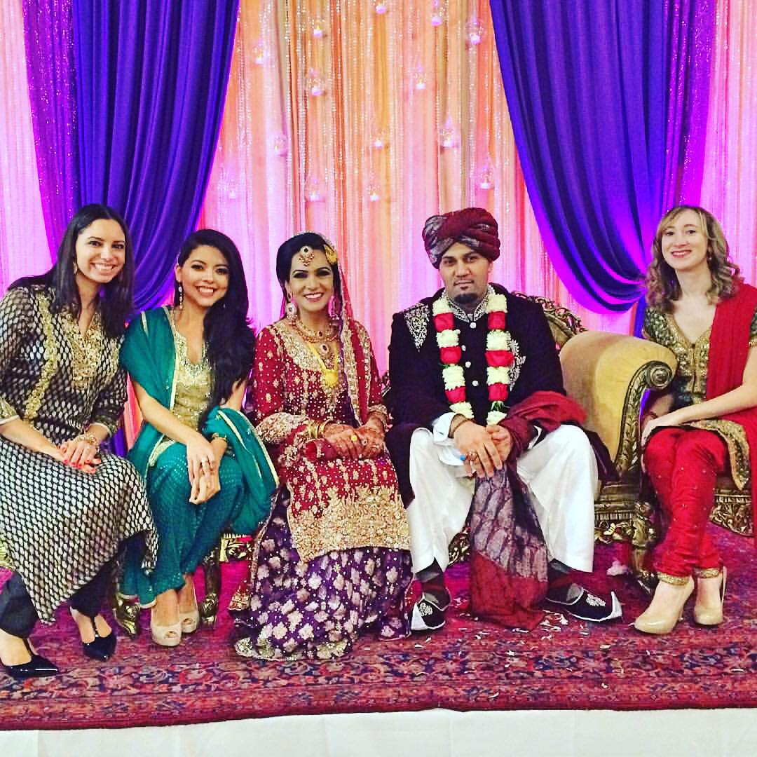 With the gorgeous bride salmastudios wedding saari crystalv21 sizzle86