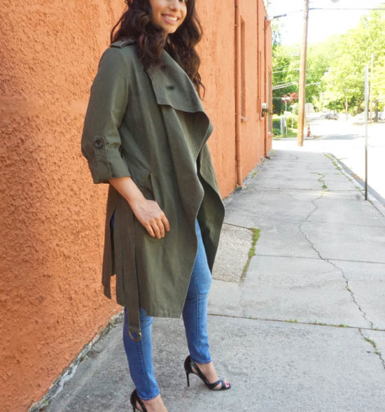 How to Style Army Green Jacket