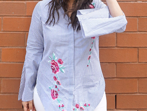 bluestripedshirt