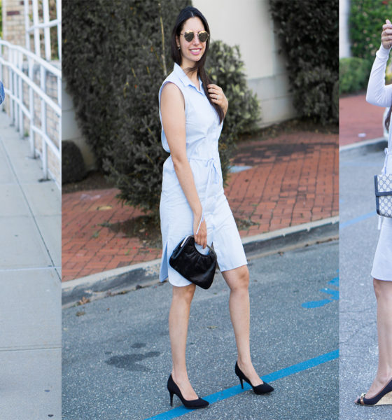 Three Ways to Wear a Shirt Dress